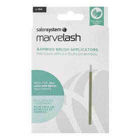 Marvelash Wegwerpkwastapplicatoren Van Bamboe x100
