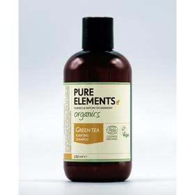 Pure Elements Green Tea Shampooing Purifiant - BIO 250ml