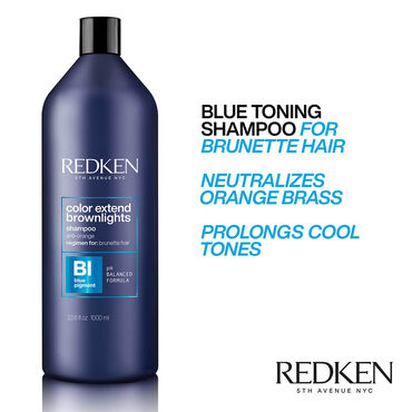 Redken CE Brownlights Shampoo 1l