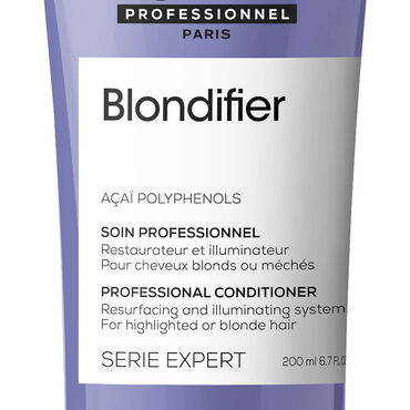 L'Oréal Professionnel Série Expert Blondifier Conditioner voor haar met highlights of blond haar 200ml