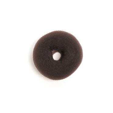 Sibel Hairbun Round Nylon Lux 11cm Brown/9500202