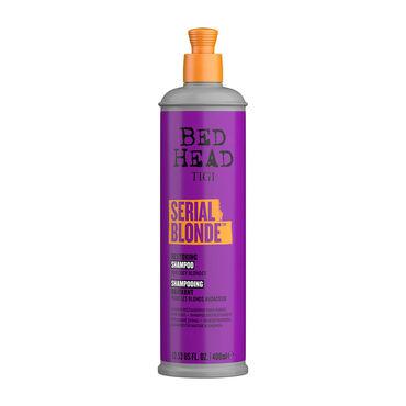 Tigi Bed Head Serial Blonde Shampooing Réparateur Blonds audacieux 400ml