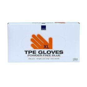 Abena Classic handschoen TPE poedervrij blauw XL 200pcs