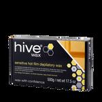 Hive Tablette de film cire chaude dépilatoire Peaux sensibles 500g