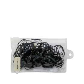 D'Ana Rubber Band Black 100pcs/282120