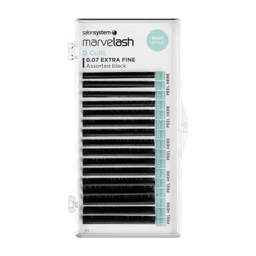 Marvelash Cils Individuels D Curl 0.07 Extra Fine8-11mm