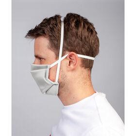 Masque réutilisable Gris clair 4 pcs