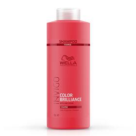 Wella Professionals Invigo Color Brilliance Shampooing Cheveux Épais 1l