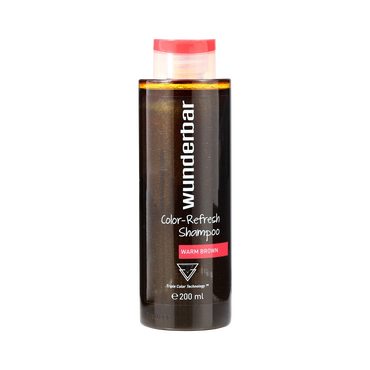 Wunderbar Color Refresh Shampoo Warm Brown 200ml
