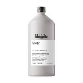 L'Oréal Professionnel Série Expert Silver Shampooing Cheveux Gris 1500ml