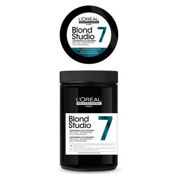 L'Oréal Blond Studio Clay Powder 7T - Ontkleuringspoeder 500g
