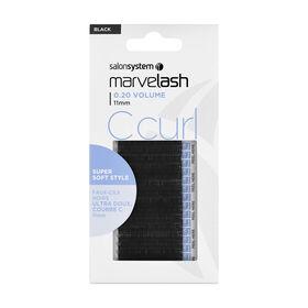 Marvelash Cils Individuels C Curl 0.20 Vol 11mm