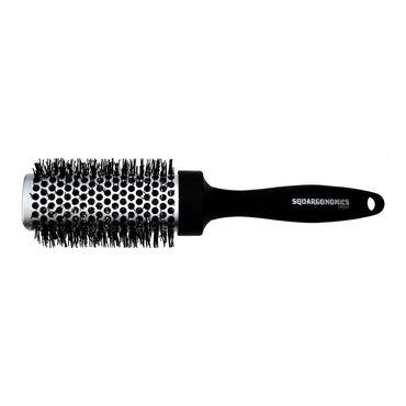 Denman Brush Squargonomics Silver 43mm
