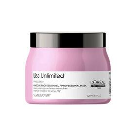 L'Oréal Professionnel Série Expert Liss Unlimited Masque Cheveux Frisés 500ml