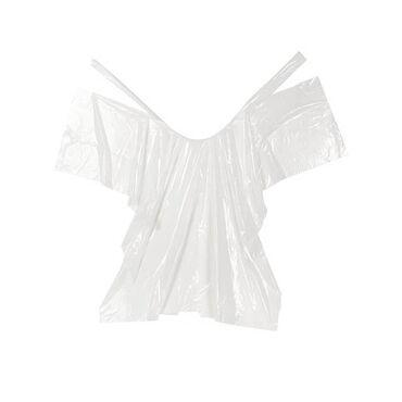 Sibel Tinting Cape Disposable Milky 30pcs/5003132