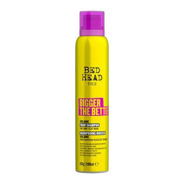 Tigi Bed Head Bigger The Better Shampooing Mousse Volume Cheveux Fins 200ml