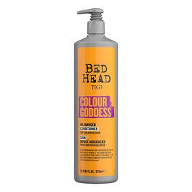 Tigi Bed Head Colour Goddess Soin Infusé Huiles Naturelles Cheveux Colorés 970ml